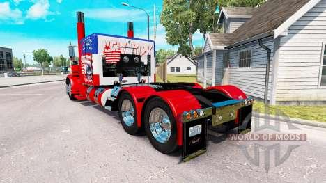 USA skin for the truck Peterbilt 389 for American Truck Simulator