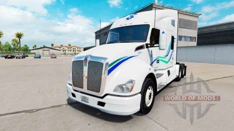 Skin John Christner Trucking in the Kenworth tra for American Truck Simulator