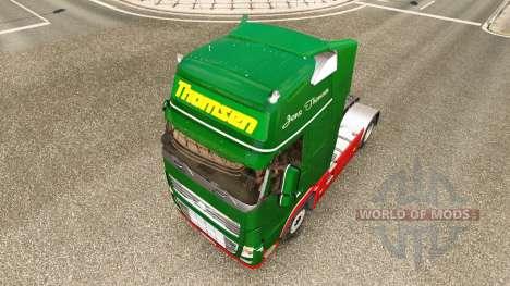 Thomsen skin for Volvo truck for Euro Truck Simulator 2