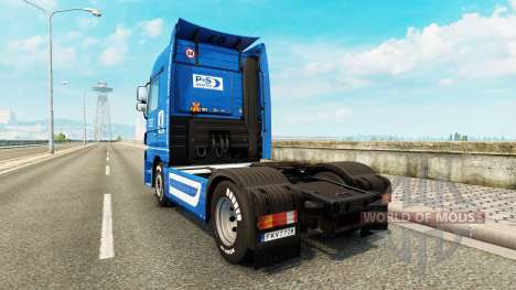 Volkswerft Stralsund skin for truck Mercedes-Ben for Euro Truck Simulator 2