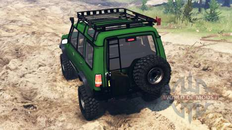 Land Rover Discovery v2.0 for Spin Tires