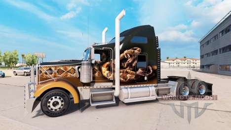 Tuning for Kenworth W900 for American Truck Simulator