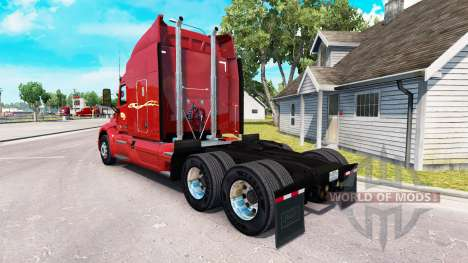 Skin Prime inc. the tractor Peterbilt for American Truck Simulator