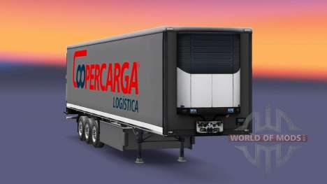 Skin Coopercarga Logistic for semi-trailers for Euro Truck Simulator 2
