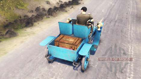 Renault Type G 1902 for Spin Tires