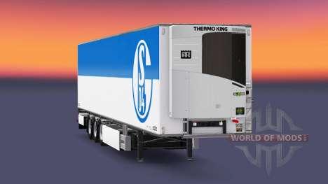 Semi-trailer Chereau FC Schalke 04 for Euro Truck Simulator 2