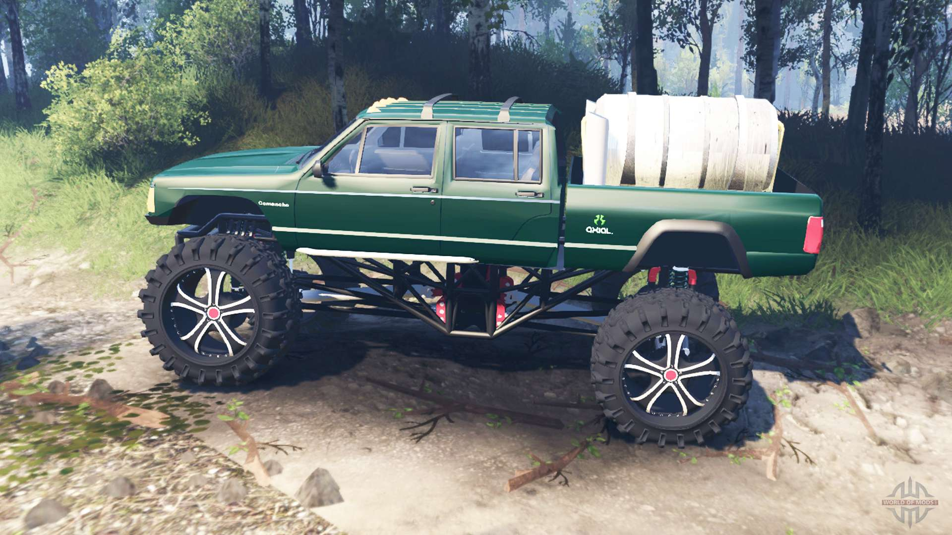 Jeep Grand Cherokee Tires >> Jeep Grand Cherokee Comanche 4x4 v3.0 for Spin Tires