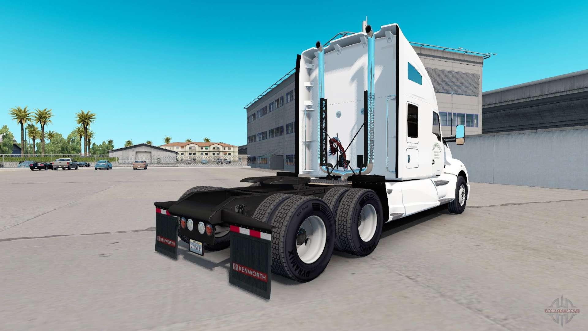 Skin howells motor on a kenworth tractor for american truck simulator jpg 1920x1080 Howells motor freight