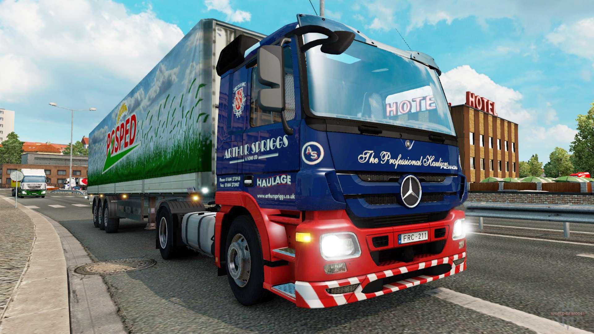 Euro truck simulator 2 v1.3.1 mods