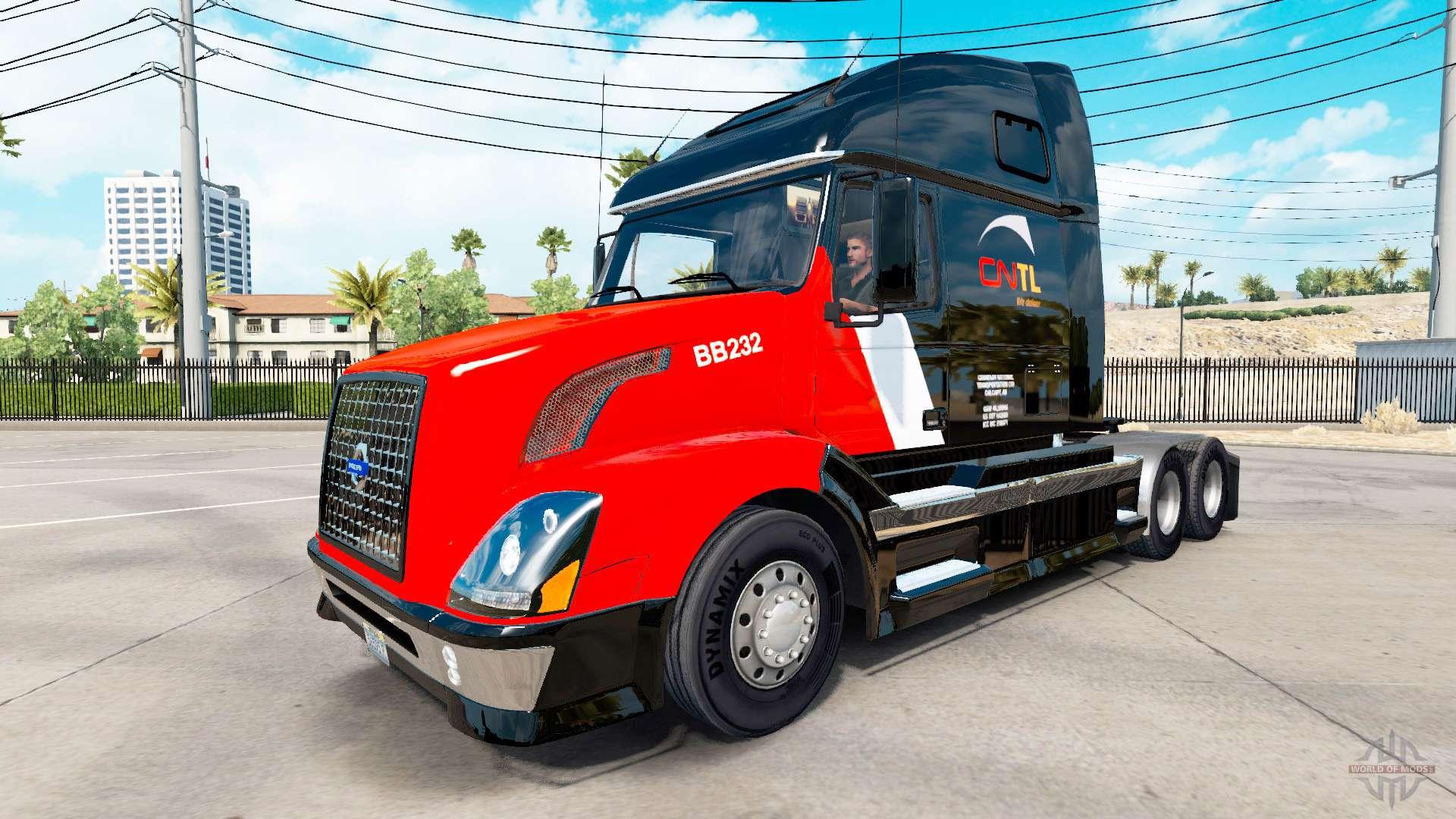 Volvo Skid Steer >> CNTL skin for Volvo truck VNL 670 for American Truck Simulator