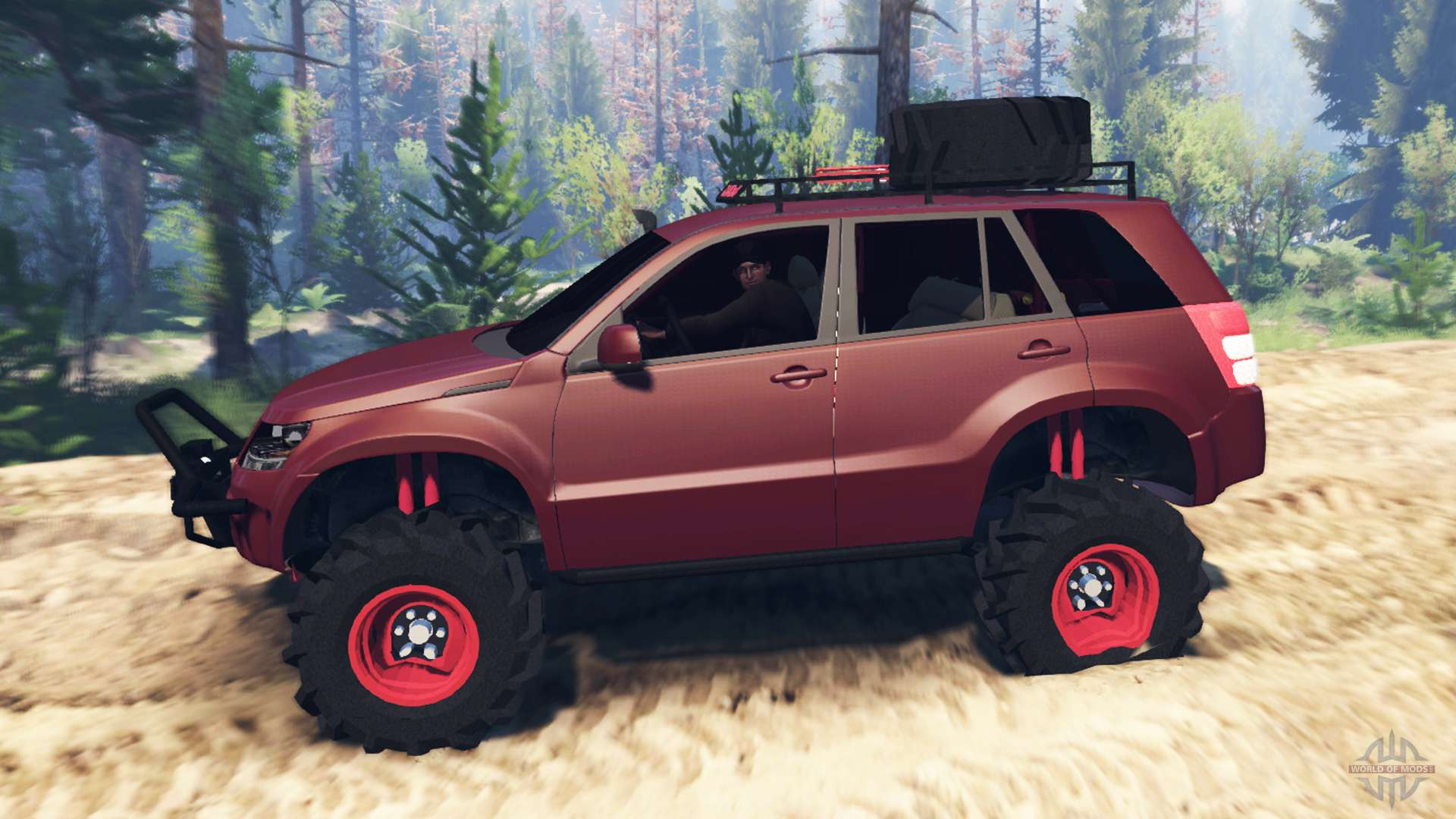 Suzuki Grand Vitara 2007 V20 For Spin Tires