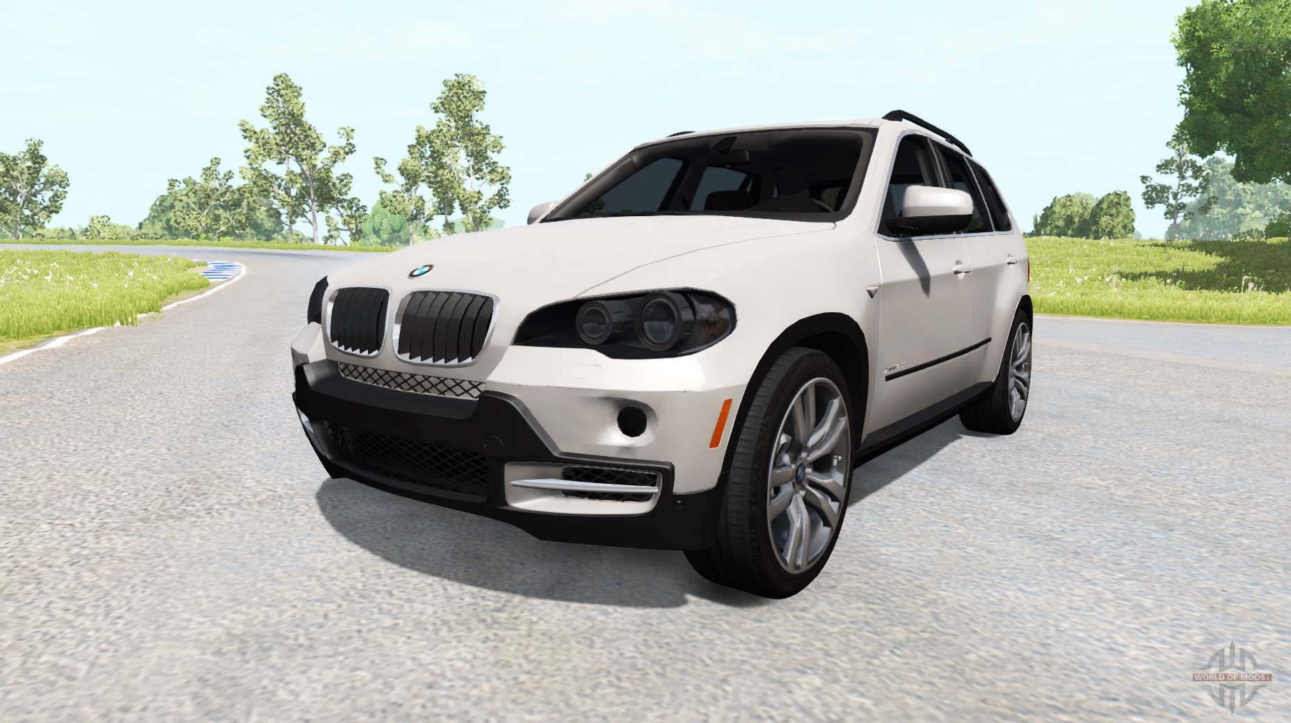 Bmw X5 E70 For Beamng Drive