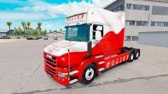 Skin Airbrash Polska for truck Scania T