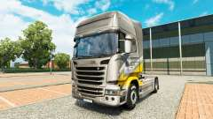 Maroni Transport skin for Scania truck for Euro Truck Simulator 2
