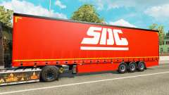 Curtain semi-trailer SDC v2.0