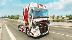 Skin Japao Copa 2014 for DAF truck