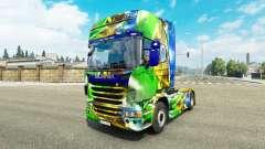 Skin Brasil 2014 for Scania truck