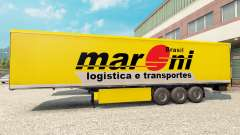 Maroni Transportes skin for trailers for Euro Truck Simulator 2