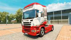 Sarantos skin for Scania truck