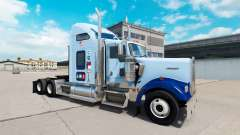 Skin UNC Tarheel v1.01 on the truck Kenworth W90