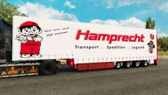 Krone curtain semi-trailer Hamprecht