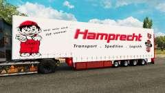 Krone curtain semi-trailer Hamprecht