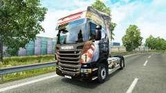 Airton Senna skin for Scania truck