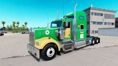 Boston Celtics skin for the Kenworth W900 tracto