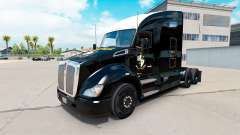 Skin black Port Vale on a Kenworth tractor
