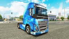 Water skin for Volvo truck for Euro Truck Simulator 2