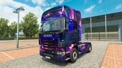 Skin Desktop oGrafhic on tractor Scania