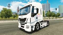 The Pink Plush AG skin for Iveco tractor unit