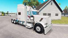 FTI Transport skin for the truck Peterbilt 389
