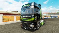 Skin Nvidia for tractor DAF XF 105.510