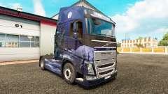 Winter Wolves skin for Volvo truck