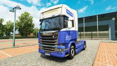 The H. Veldhuizen BV skin for Scania truck