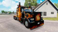 Skins Big Bang on the truck Peterbilt 389