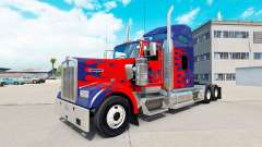 Skin for Optimus Prime truck Kenworth W900