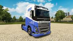 The H. Veldhuizen BV skin for Volvo truck