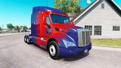 Optimus Prime skin for the truck Peterbilt
