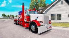 USA skin for the truck Peterbilt 389