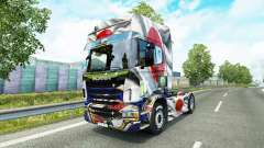 Skin Japao Copa 2014 for Scania truck for Euro Truck Simulator 2