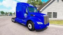 Skin JNJ Express Inc. the tractor Peterbilt