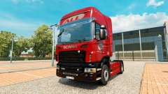 The America Latina Logistica skin for Scania tru