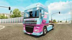 Jan Tromp skin for tractor DAF XF 105.510