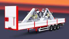 Flatbed semi-trailer Kogel