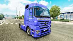 Skin Dachser Karlsruhe for tractor Mercedes-Benz for Euro Truck Simulator 2
