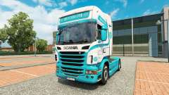 Kouhia Oy skin for Scania truck for Euro Truck Simulator 2