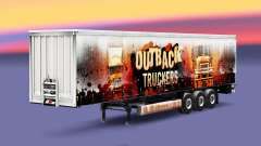 Outback Truckers skin on the trailer
