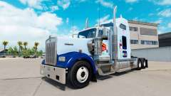 Skin UNC Tarheel on the truck Kenworth W900